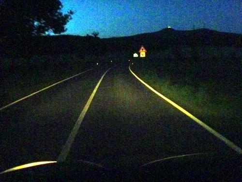 Noční návraty pod Ještěd